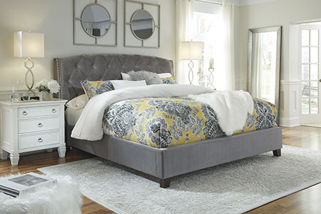 Gray Bed Affordable Portables Chicago