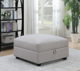 Cambria Ottoman Affordable Portables